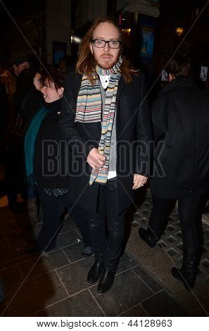 Tim Minchin At The Press Night Of The Curious Incident Of The Dog In The Night 12Th March 2013