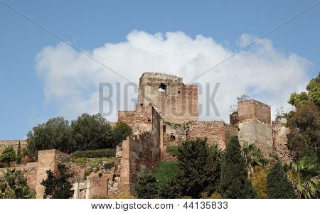 Fortress in Malaga Spain