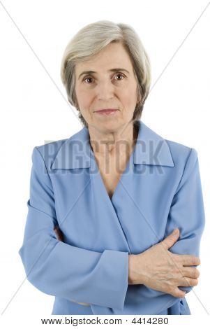 Elderly Business Woman