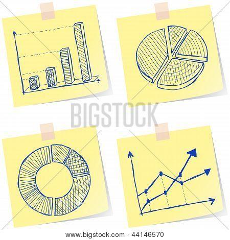 Esboços de gráficos
