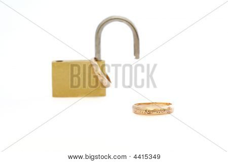 Padlock With Rings