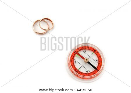 Compass With Rings