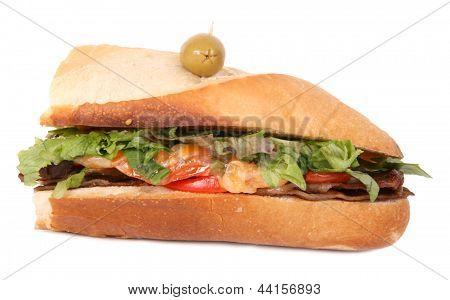 demi sub sandwich