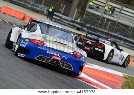 2013 GTSprint International Series Porsche 911 GT3 racing car