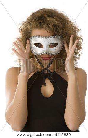 Portrait With Mask