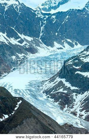 View To Kaunertal Gletscher (austria)