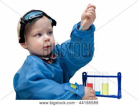 Little child - the chemist