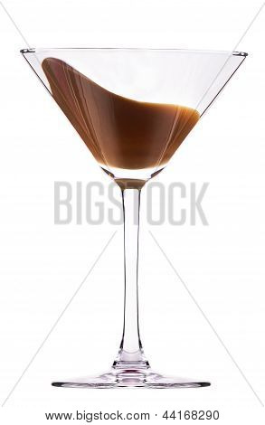 Chocolate Cocktail With Splash