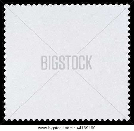 Blank Postage Stamp