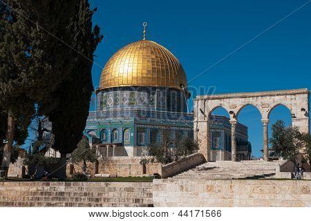Temple Mount In Jerusalem
