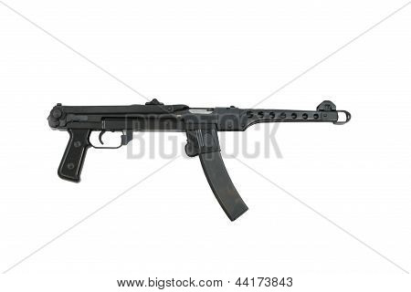 PPS-43 Russian Machine Gun