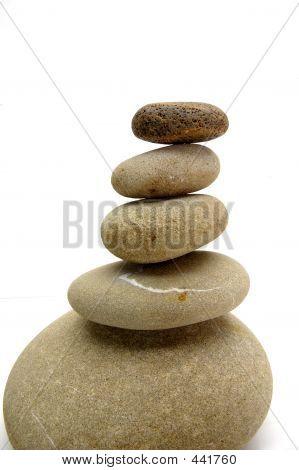 White Background Zen