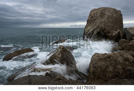 Tormenta de mar