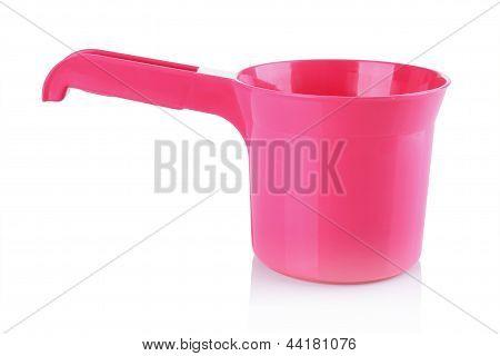 Pink Bailer For Take A Bath