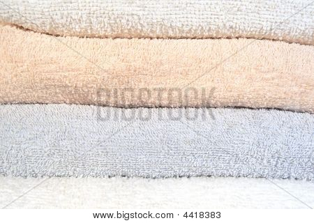 Folded Towels Texture