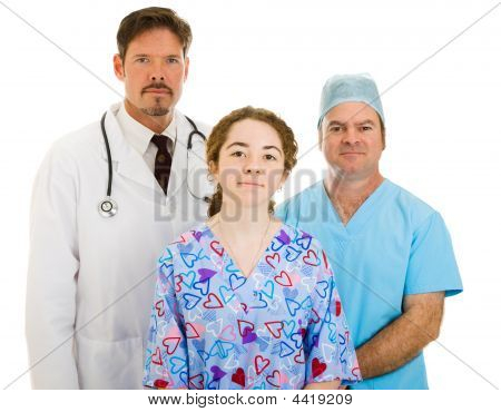Serious Medical Team