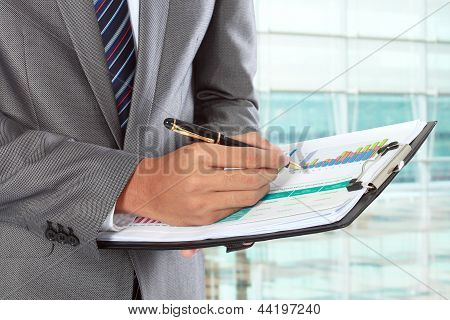 Escrita de empresário