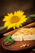 foto of phyllo dough  - Cheese pie - JPG