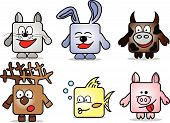 Cartoon Animals poster