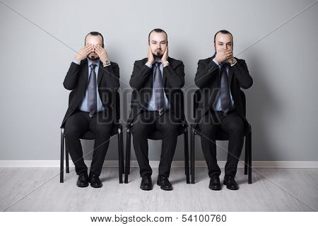 Three Wise Businessman