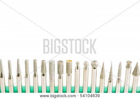 Diamond tool bits