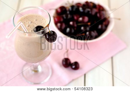 Sweet Black Cherry Smoothie