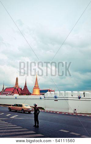 Royal Family's Rolls Royce and Grand Palace - Bangkok