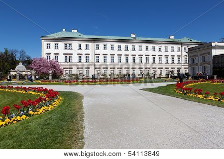 Mirabell Palace in Salzburg Austria