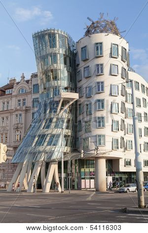 Dancing Houses In Prague, Czech Republic