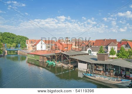 Plau am See,Mecklenburg Lake District,Germany