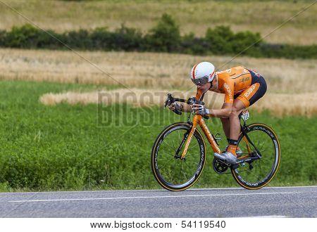 The Cyclist Igor Anton Hernandez