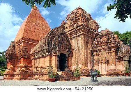Towers Cham Civilization. Nha Trang, Vietnam