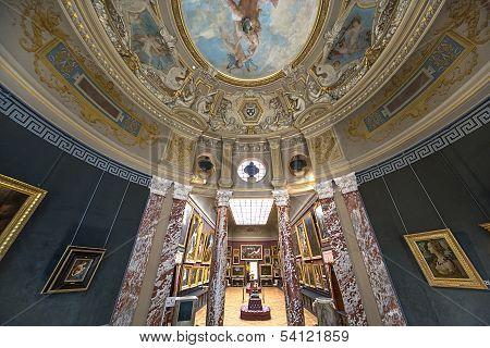 Chateau de Chantilly, Oise, France,interiors
