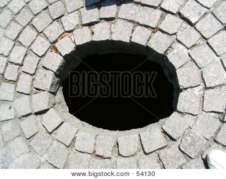Hole Brick Pattern