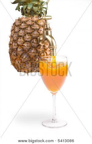 Pineapple With Spigot