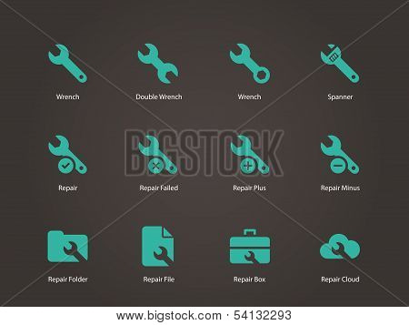 Repair Wrench icons.