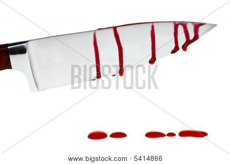 Knife With Blood