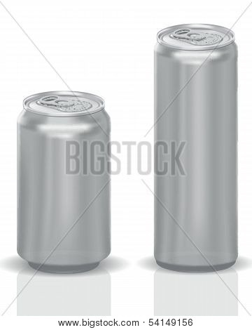 Photorealistic Vector Cans
