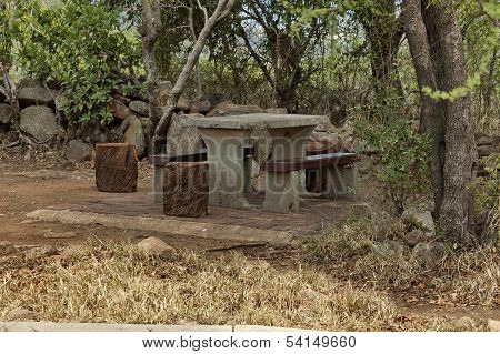 Nook for repose in Pilanesberg National Park
