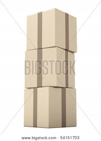 Stack of generic Packages