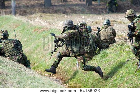 Armed Special Forces Training