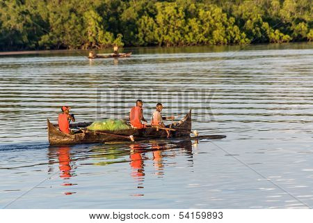 Fishermen Going Fishing
