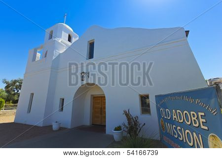 An Old Adobe Mission Shot, Scottsdale, Arizona