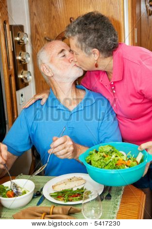 Food Service With A Kiss