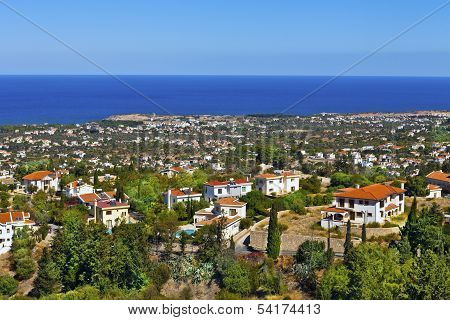 Cyprus landscape.