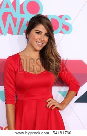 LOS ANGELES - NOV 17:  Daniella Monet at the TeenNick Halo Awards at Hollywood Palladium on November 17, 2013 in Los Angeles, CA