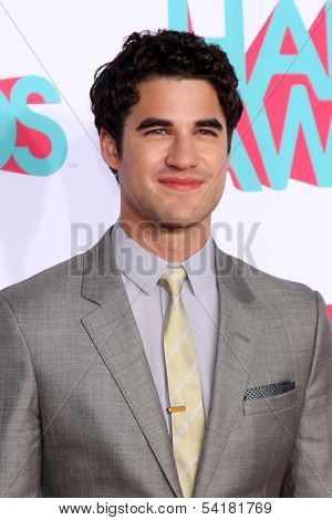 LOS ANGELES - NOV 17:  Darren Criss at the TeenNick Halo Awards at Hollywood Palladium on November 17, 2013 in Los Angeles, CA