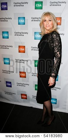 NEW YORK-NOV 18; Actress Judith Light attends the CSA 29th Annual Artios Awards ceremony at the XL Nightclub on November 18, 2013 in New York City.