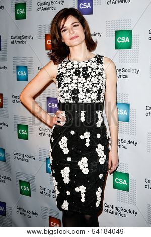 NEW YORK-NOV 18; Actress Betsy Brandt attends the CSA 29th Annual Artios Awards ceremony at the XL Nightclub on November 18, 2013 in New York City.