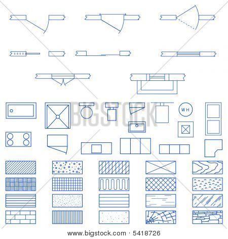 Blueprint Symbols Used By Architects